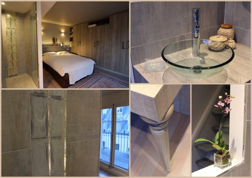 Architecture intérieure Duplex Ile Saint Louis CHAMBRE (5)