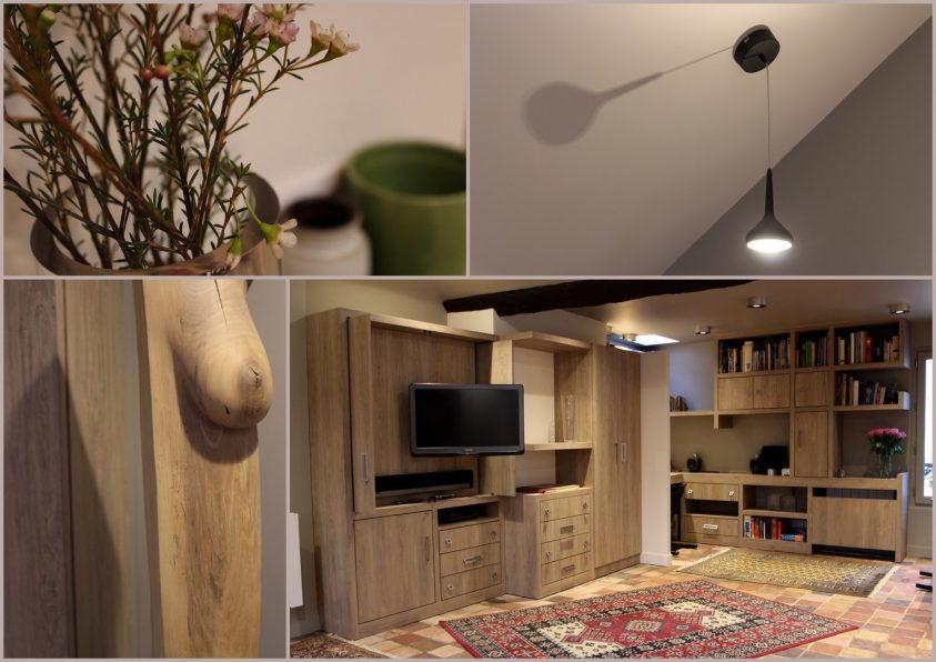 Architecture intérieure Duplex Ile Saint Louis MEUBLE TV (4)