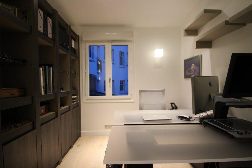 Architecte intérieur Hôtel particulier Neuilly BUREAU (4)
