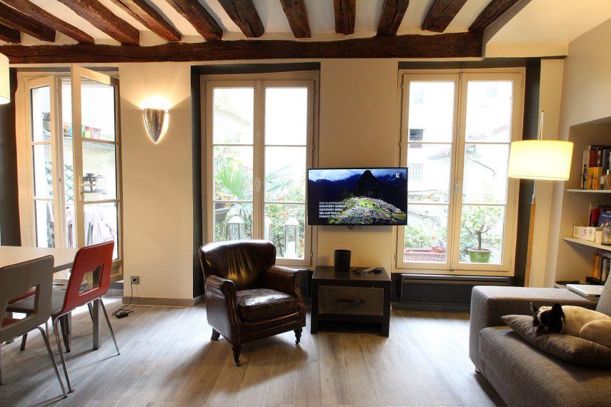 Architecture int rieur loft monge paris for Agence architecture interieur paris