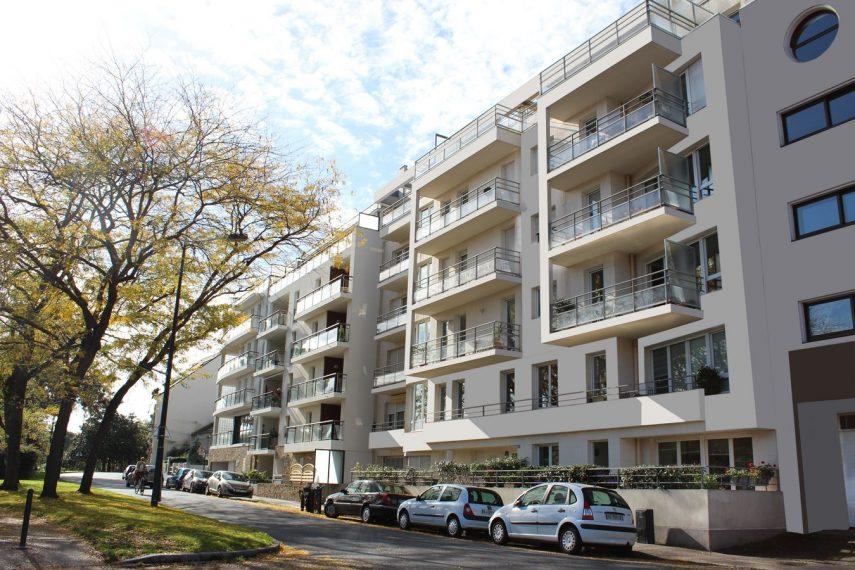 Logements collectifs Nantes Van Isghem