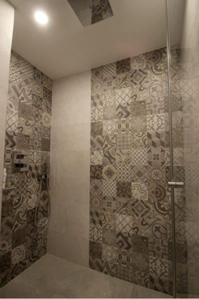Architecte intérieur Paris + salle de bain + douche à l'italienne