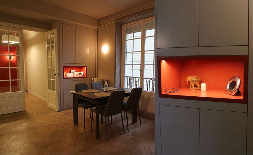 Architecte intérieur Paris + Salle à manger Salon
